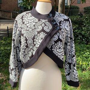 Joseph Ribkoff Black Cropped Bolero Jacket